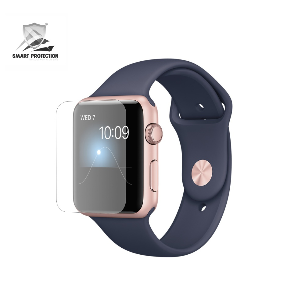 Folie de protectie Smart Protection Smartwatch Apple Watch 2 38mm Series 2 - 4buc x folie display imagine