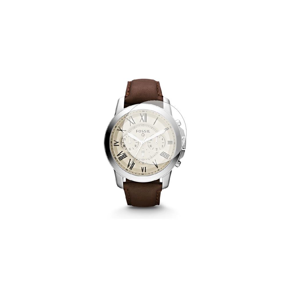 Folie de protectie Smart Protection Smartwatch Fossil Q Grant - 4buc x folie display imagine