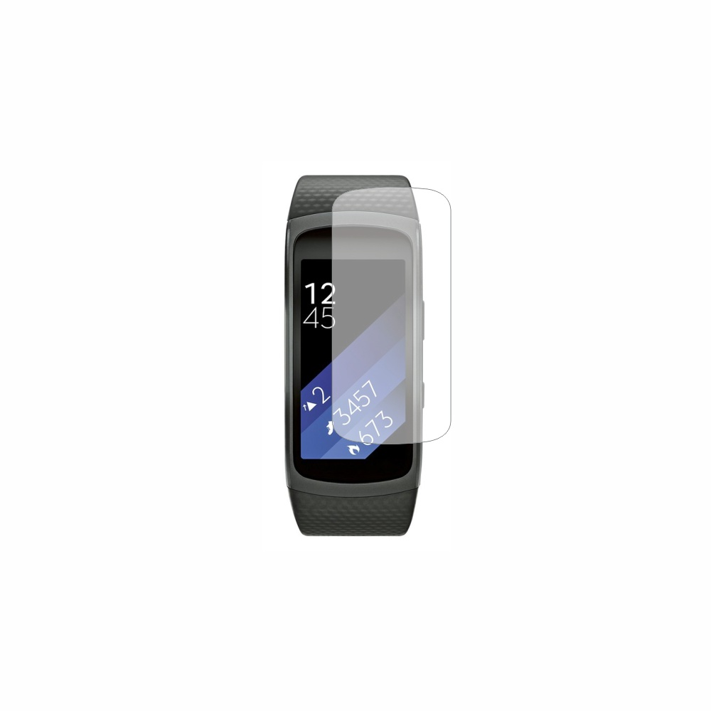 Folie de protectie Smart Protection SmartWatch Samsung Galaxy Gear Fit 2 - 2buc x folie display imagine