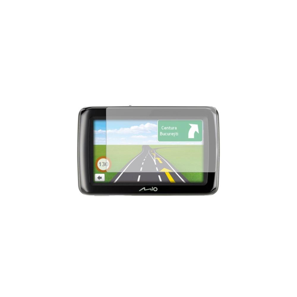 Folie de protectie Smart Protection GPS Mio Spirit 497 LM Traffic - 2buc x folie display imagine