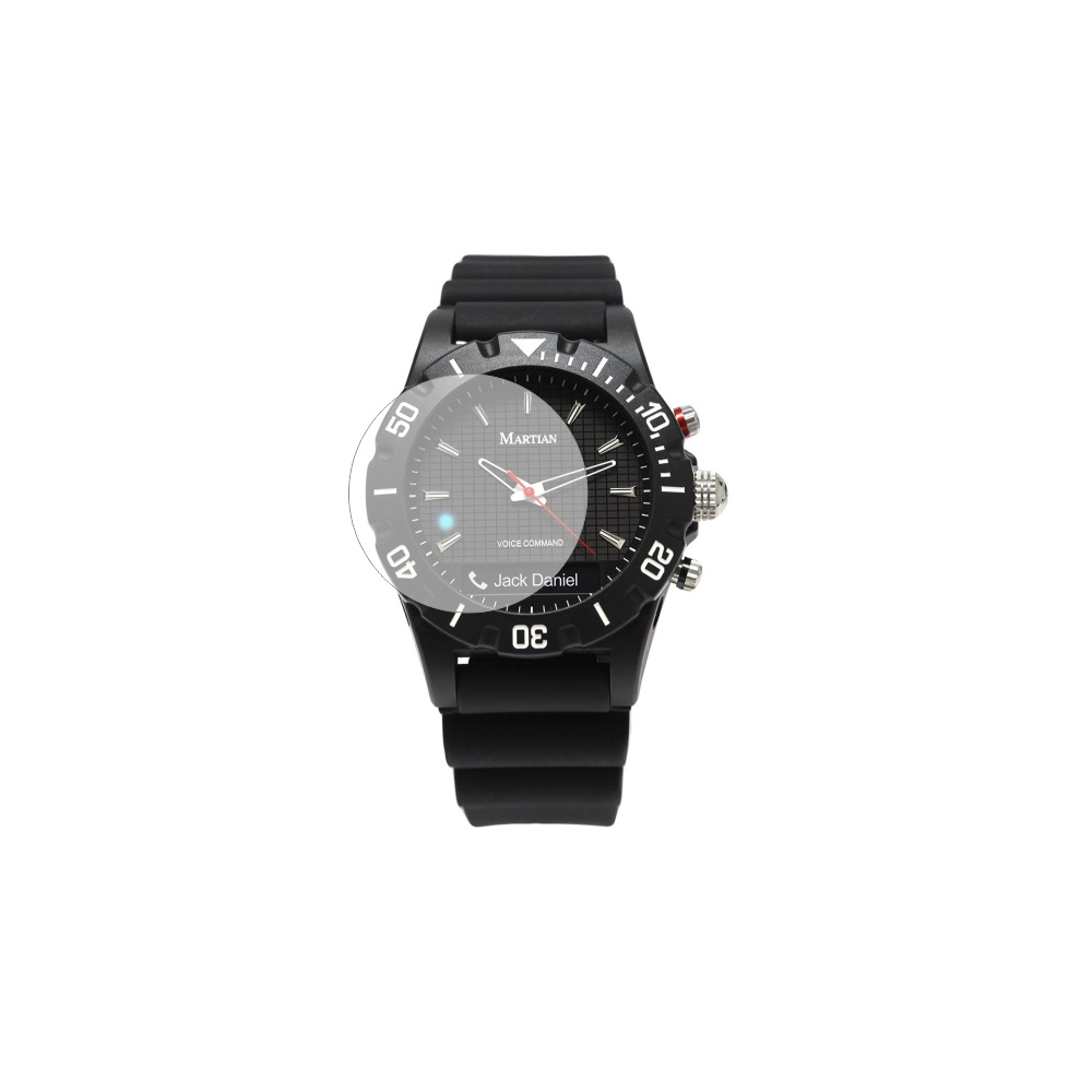 Folie de protectie Smart Protection Smartwatch Martian Envoy G10 - 4buc x folie display imagine