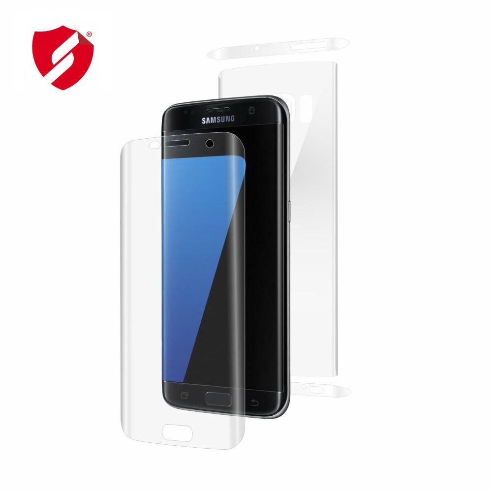 Folie de protectie Smart Protection Samsung Galaxy S7 Edge compatibila cu carcasa Spigen Rugged Armor - fullbody - display + spate + laterale imagine