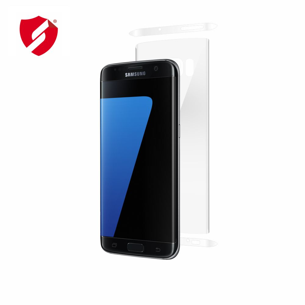 Folie de protectie Smart Protection Samsung Galaxy S7 Edge compatibila cu carcasa VRS Design - doar spate imagine