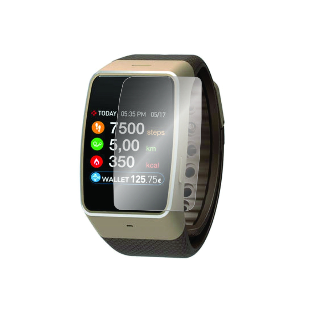 Folie de protectie Smart Protection Smartwatch Mykronoz ZeWatch 4 - 4buc x folie display imagine