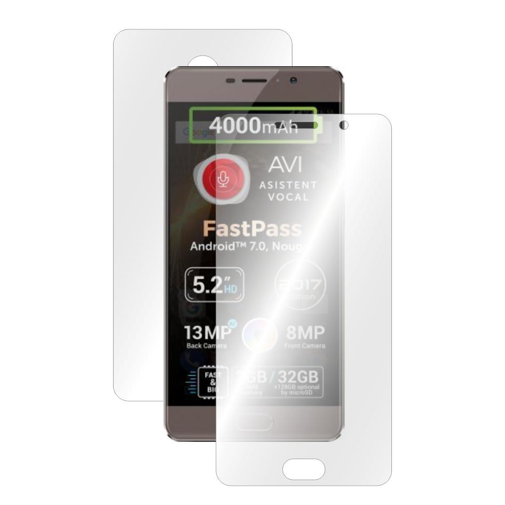 Folie de protectie Smart Protection Allview P9 Energy lite 2017 - fullbody-display-si-spate imagine