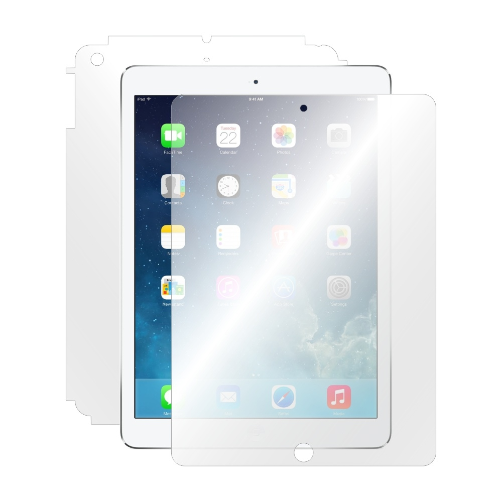 Folie de protectie Smart Protection Apple iPad Air 2 9.7 - fullbody - display + spate + laterale imagine
