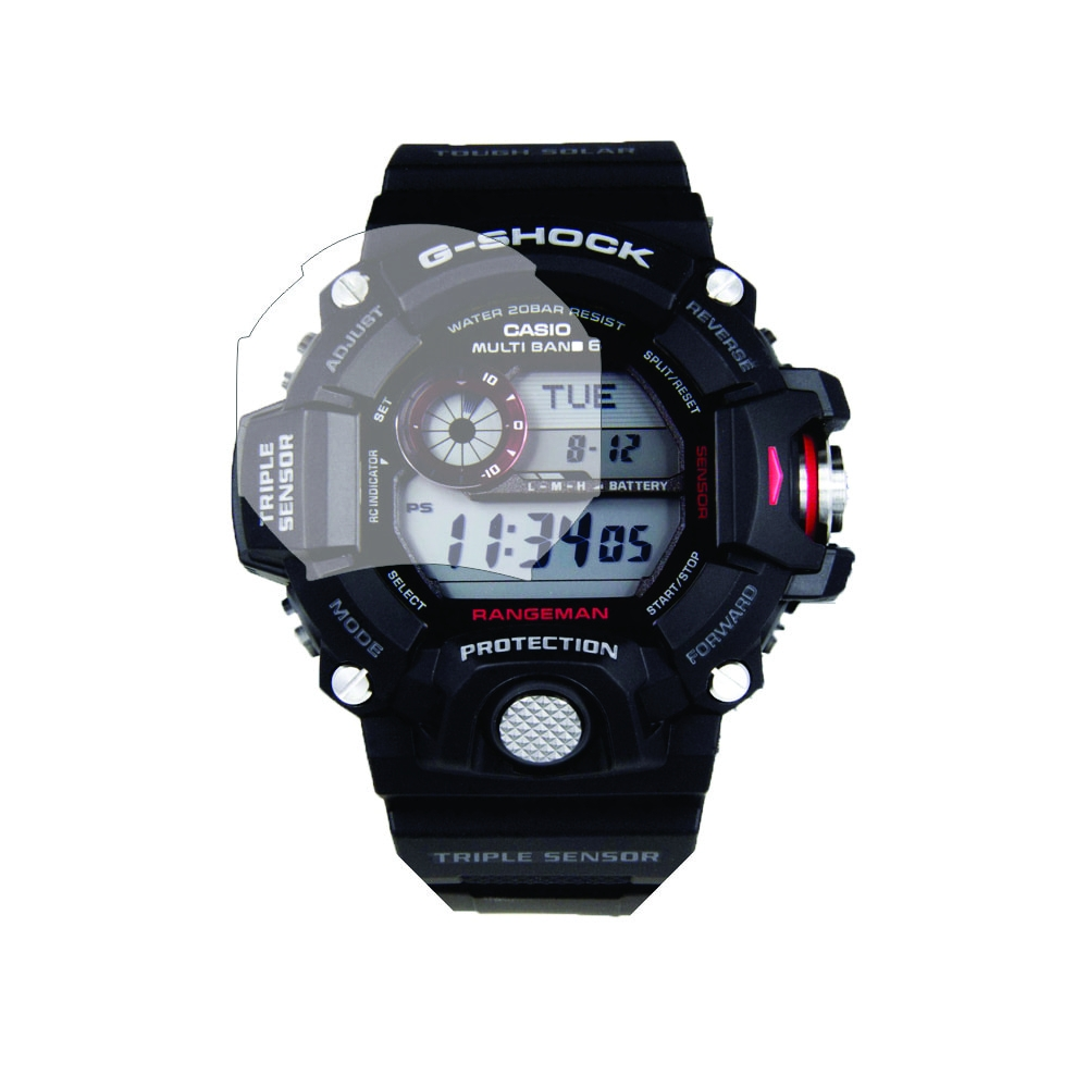 Folie de protectie Smart Protection Casio Men's GW-9400-1CR - 2buc x folie display imagine