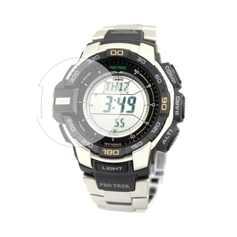 Folie de protectie Smart Protection Sportwatch Casio ProTrek PRG 270d 7er - 4buc x folie display imagine
