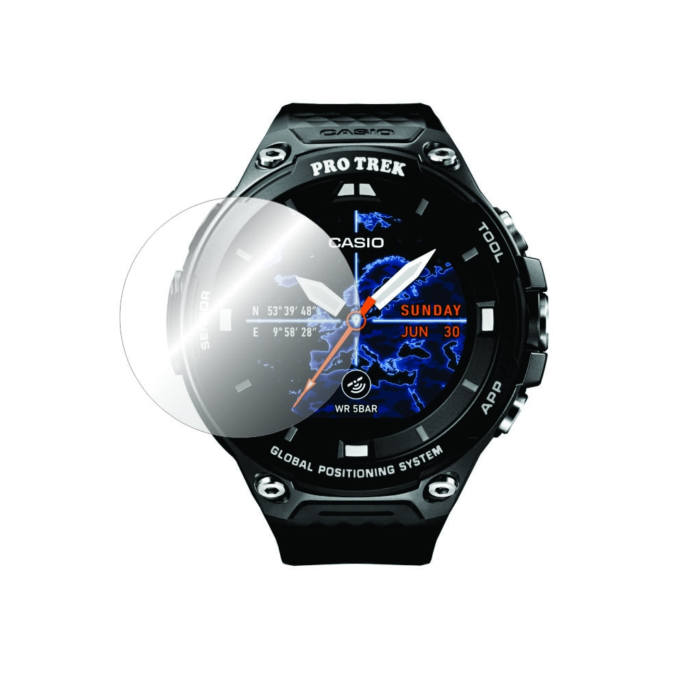 Folie de protectie Smart Protection Casio Pro Trek Smart WSD-F20 - 2buc x folie display imagine