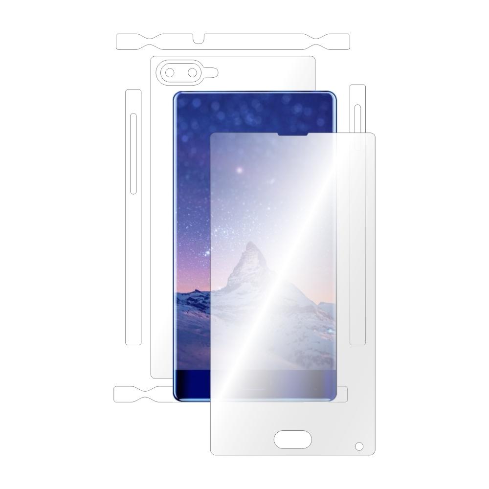 Folie de protectie Smart Protection Doogee Mix - fullbody - display + spate + laterale imagine