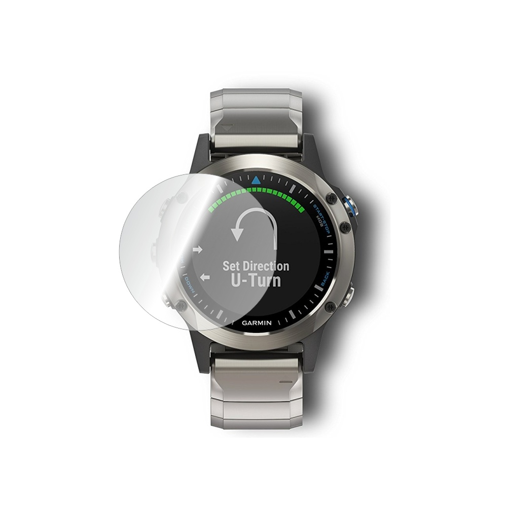 Folie de protectie Smart Protection Smartwatch Garmin Quatix 5 - 2buc x folie display imagine