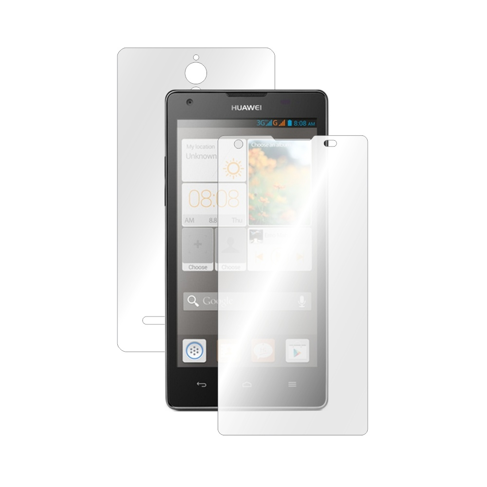 Folie de protectie Smart Protection Huawei Ascend G700 - fullbody-display-si-spate imagine