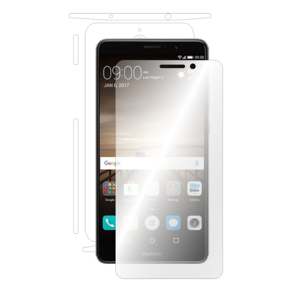 Folie de protectie Smart Protection Huawei Mate 9 - fullbody - display + spate + laterale imagine