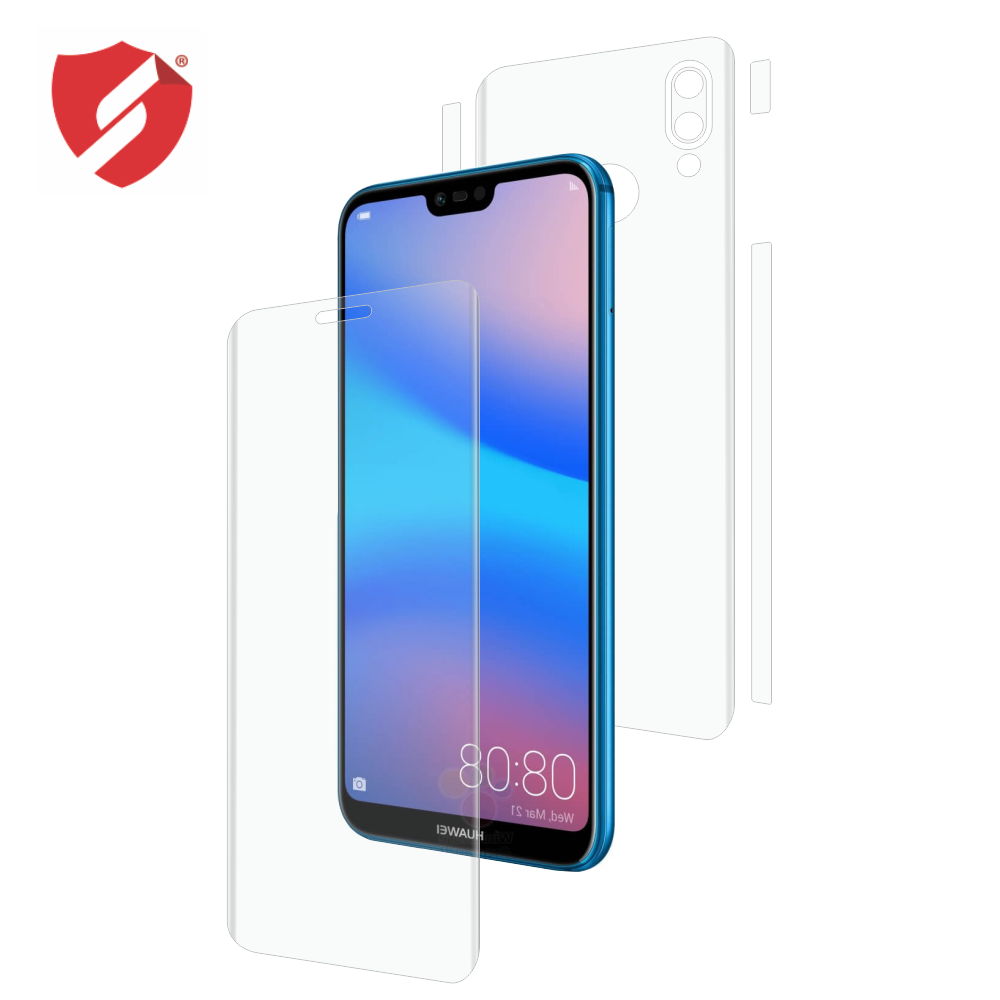 Folie de protectie Smart Protection Huawei P20 Lite - fullbody - display + spate + laterale imagine