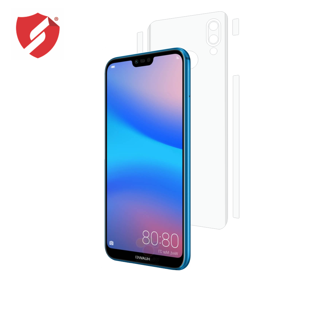 Folie de protectie Smart Protection Huawei P20 Lite - doar-spate+laterale imagine