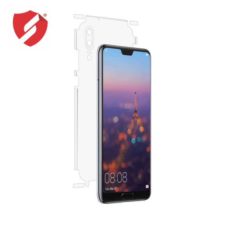 Folie de protectie Smart Protection Huawei P20 - doar-spate+laterale imagine
