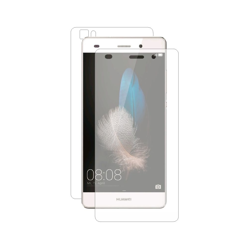 Folie de protectie Smart Protection Huawei P8 Lite - fullbody-display-si-spate imagine