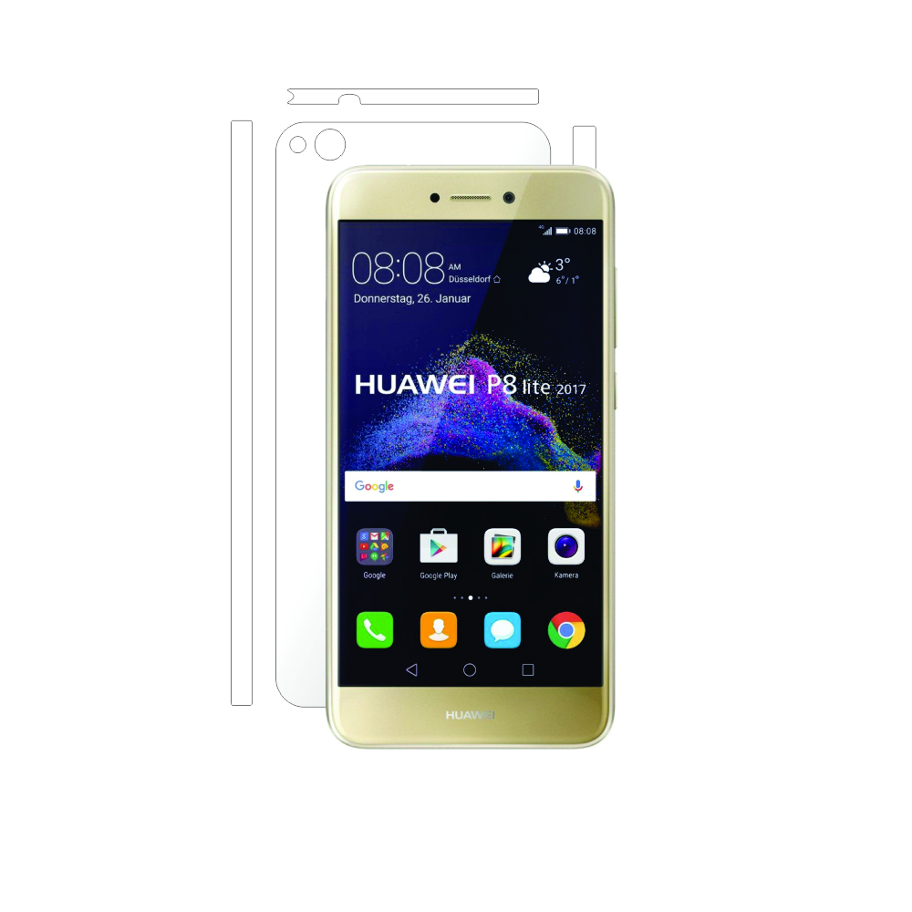 Folie de protectie Smart Protection Huawei P8 Lite (2017) - doar spate imagine