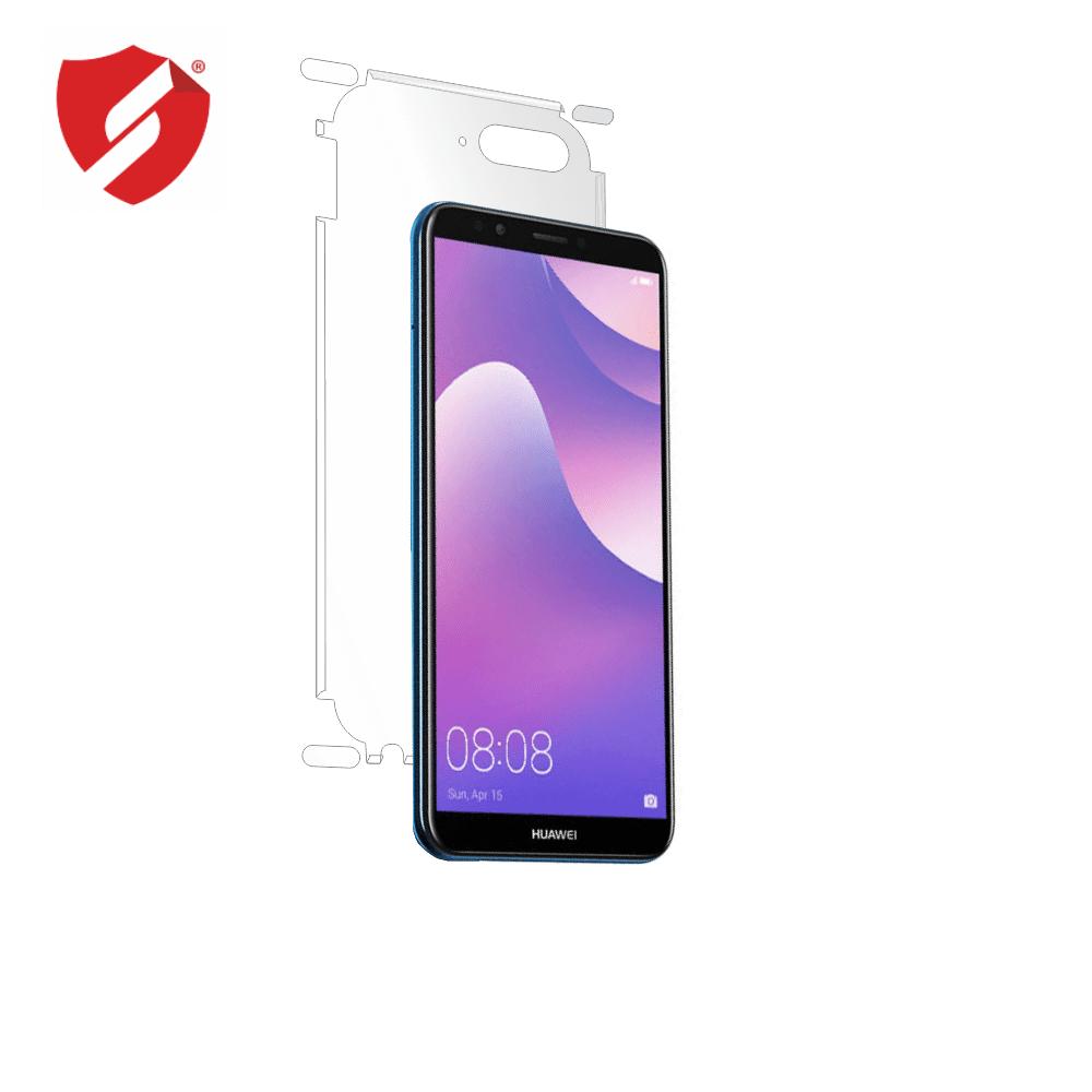 Folie de protectie Smart Protection Huawei Y7 Prime 2018 - doar-spate+laterale imagine