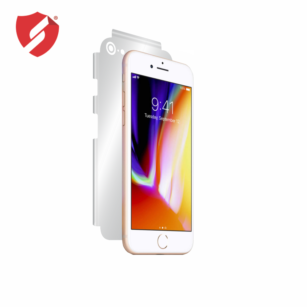Folie de protectie Smart Protection Apple iPhone 8 - doar-spate+laterale imagine