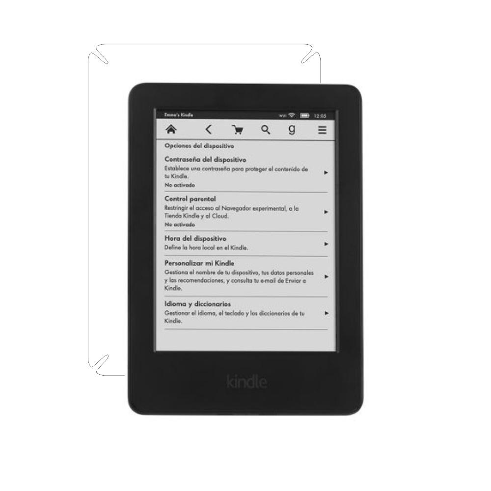 Folie de protectie Smart Protection Kindle 6 Glare Free - doar spate imagine