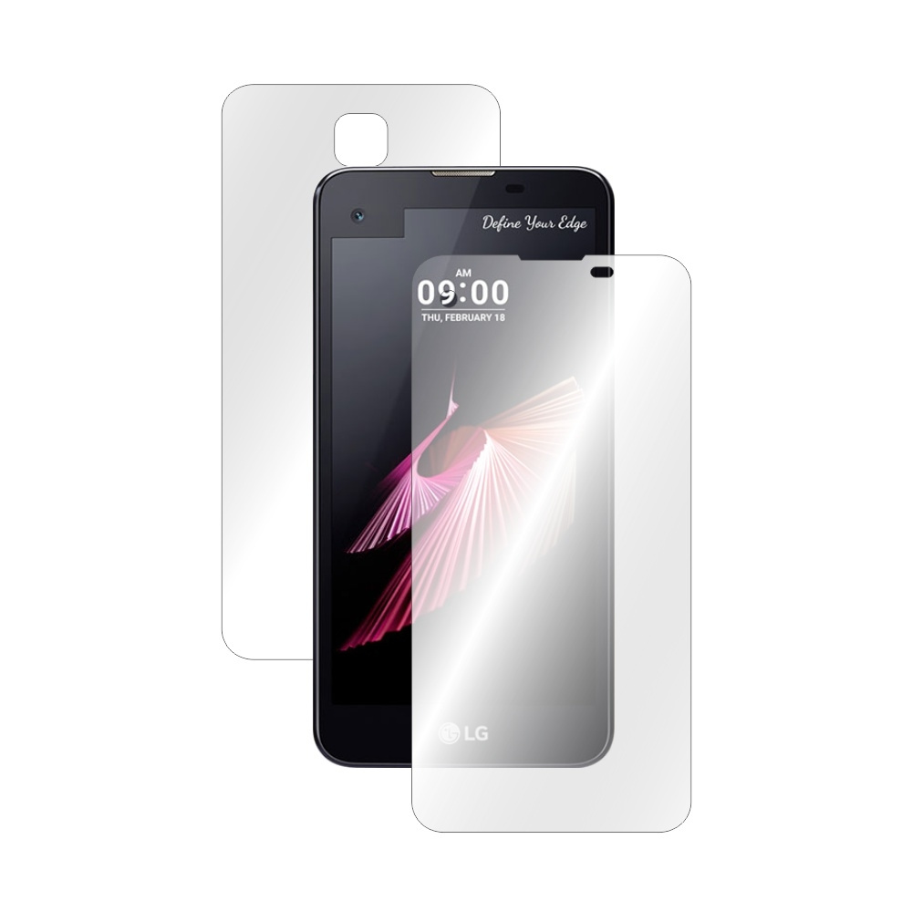 Folie de protectie Smart Protection LG X screen - fullbody-display-si-spate imagine