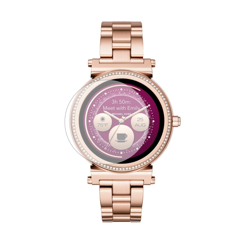 Folie de protectie Smart Protection Smartwatch Michael Kors Sofie 42 - 2buc x folie display imagine