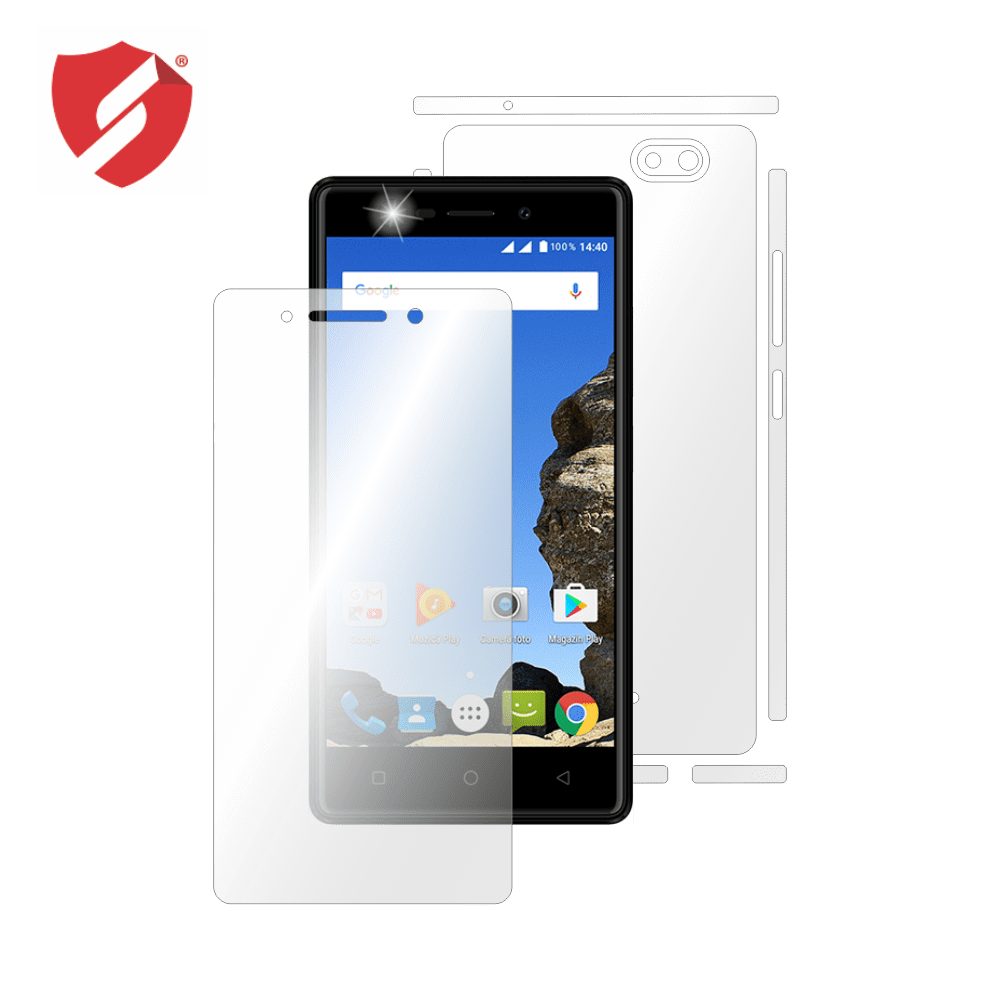 Folie de protectie Smart Protection Myria Wide 2 MY9053 - fullbody - display + spate + laterale imagine