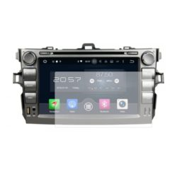 Folie de protectie Clasic Smart Protection Navigatie AM Toyota Corolla 2006-2011 cu Android 8 inch