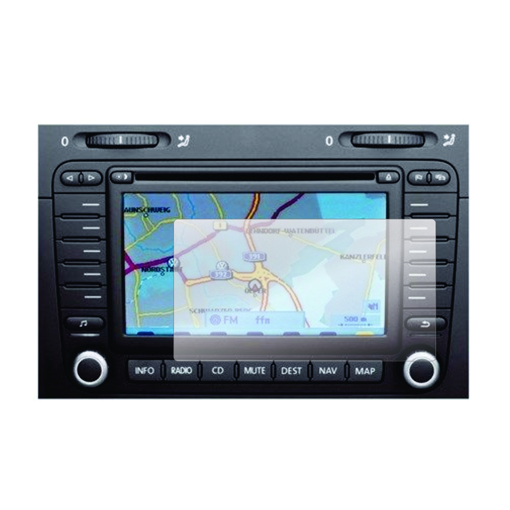 Folie de protectie Smart Protection Navigatie Volkswagen RNS MFD2 - 2buc x folie display imagine