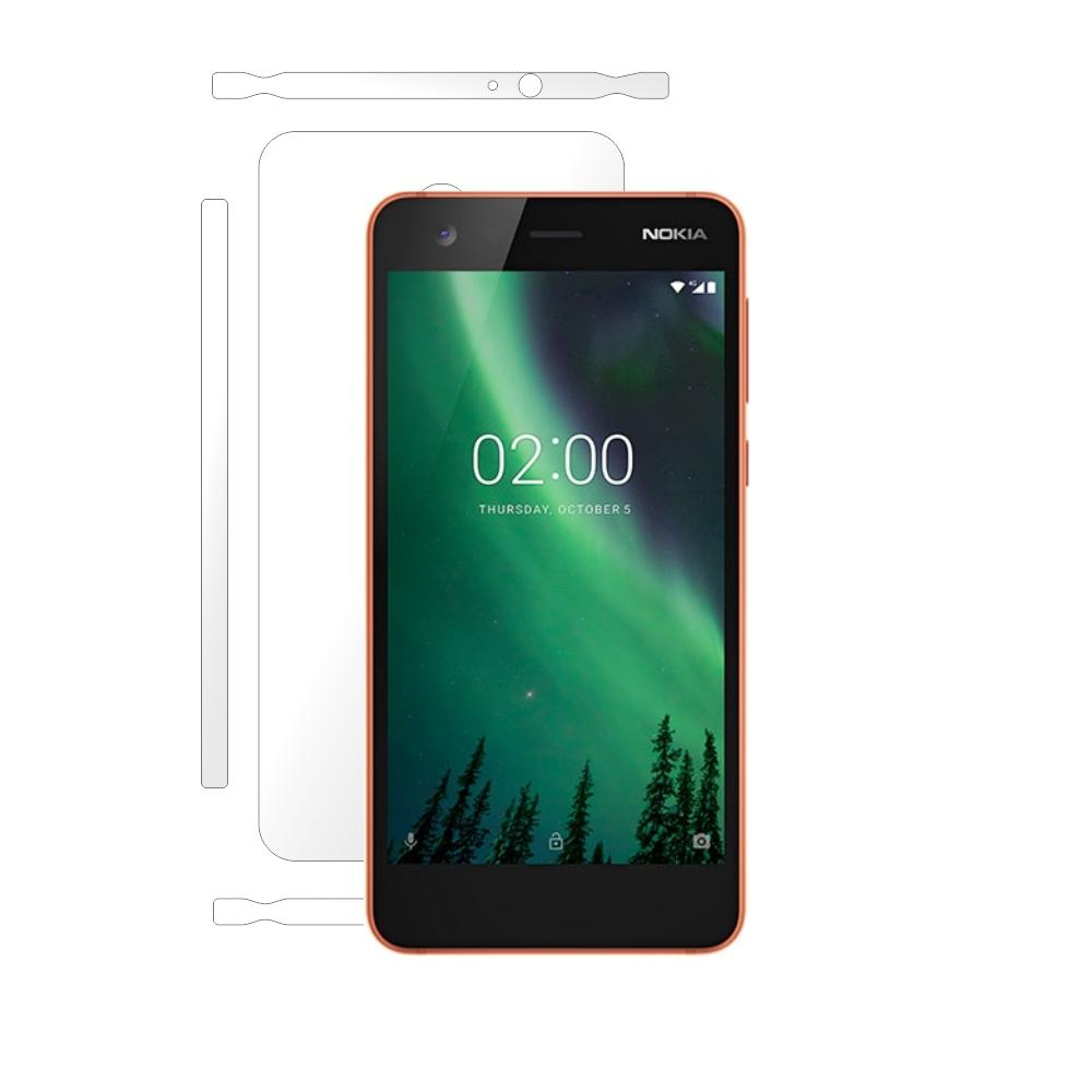 Folie de protectie Smart Protection Nokia 2 - doar-spate+laterale imagine