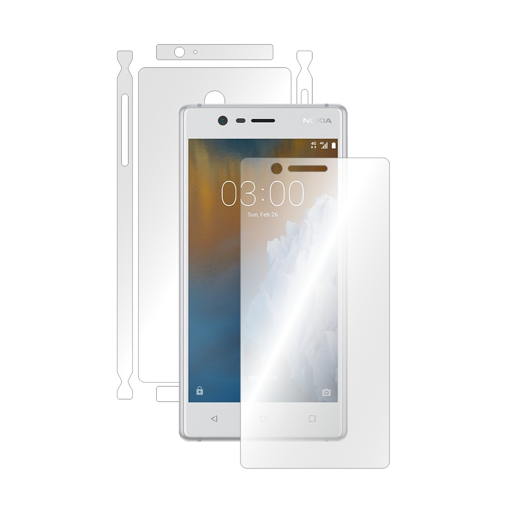 Folie de protectie Smart Protection Nokia 3 - fullbody-display-si-spate imagine
