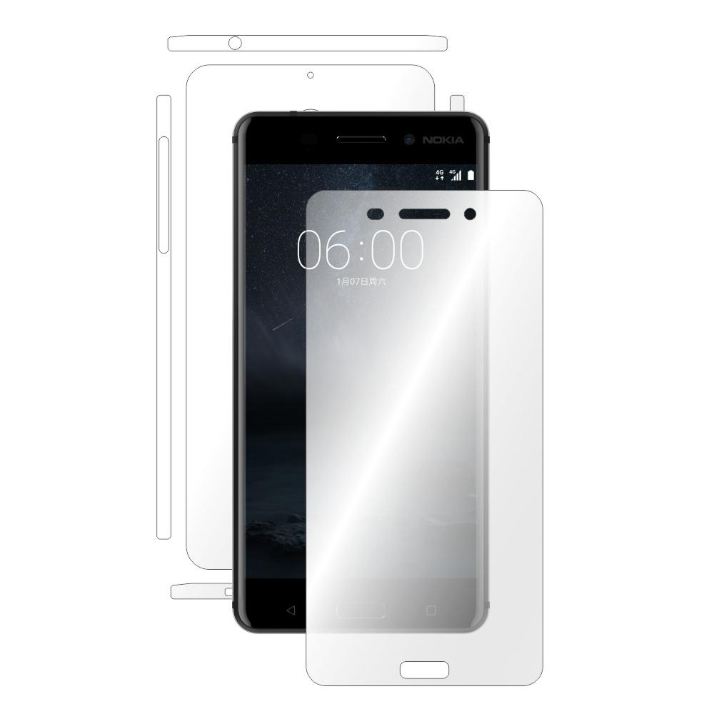 Folie de protectie Smart Protection Nokia 6 - fullbody - display + spate + laterale imagine