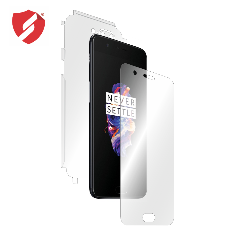 Folie de protectie Smart Protection OnePlus 5 - fullbody - display + spate + laterale imagine