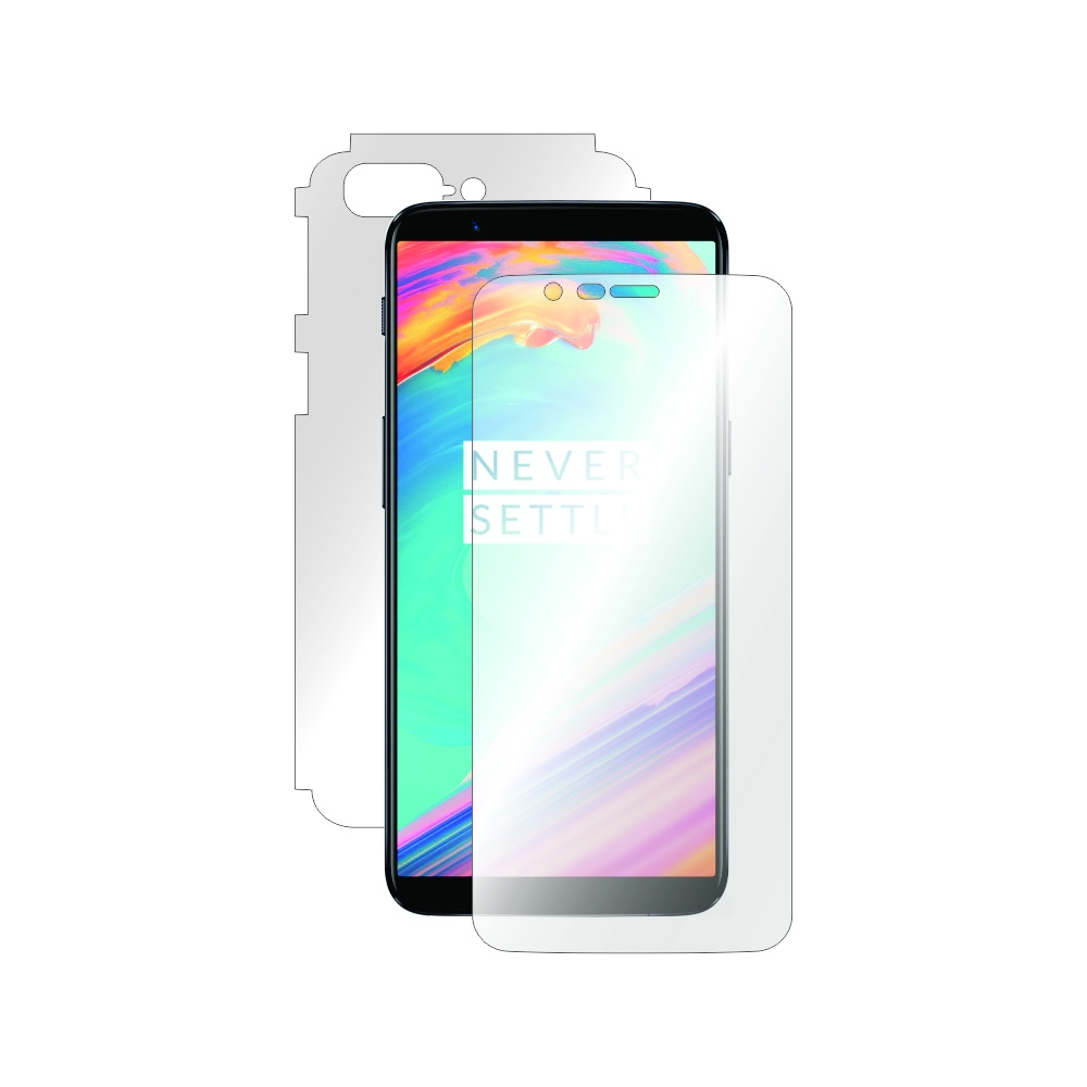 Folie de protectie Smart Protection OnePlus 5t - fullbody - display + spate + laterale imagine