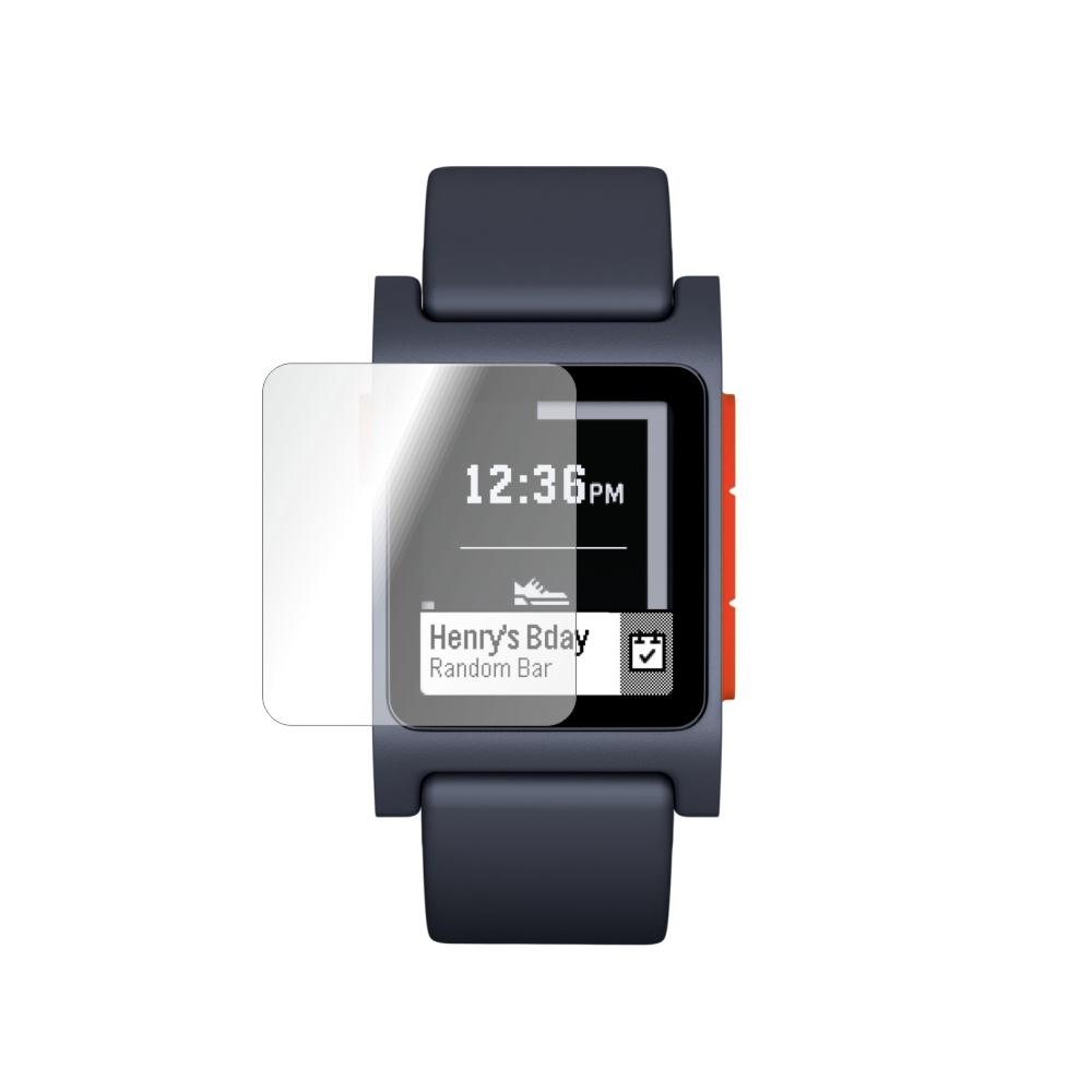 Folie de protectie Smart Protection Smartwatch Pebble 2 HR - 2buc x folie display imagine