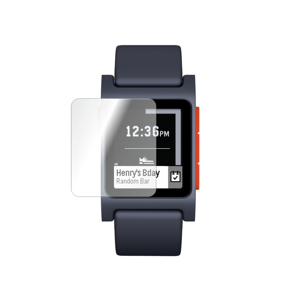 Folie de protectie Smart Protection Smartwatch Pebble 2 HR - 4buc x folie display imagine