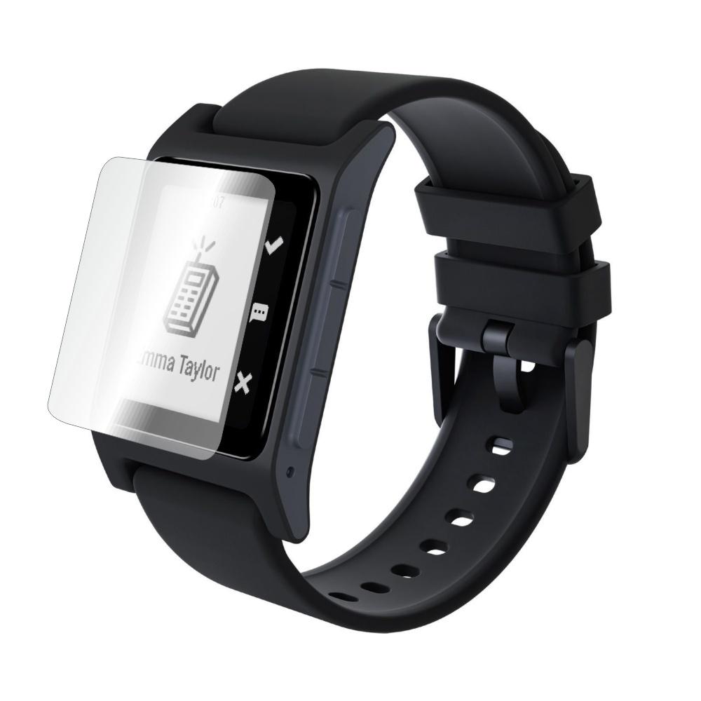 Folie de protectie Smart Protection Smartwatch Pebble 2 SE - 4buc x folie display imagine