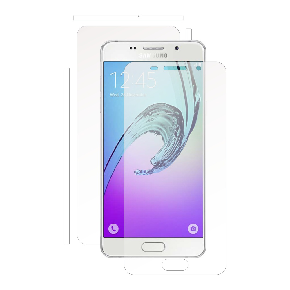 Folie de protectie Smart Protection Samsung Galaxy A3 (2016) - fullbody - display + spate + laterale imagine