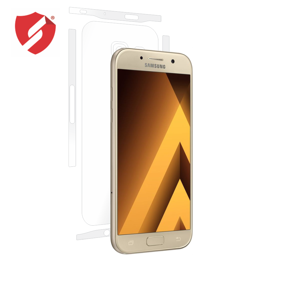 Folie de protectie Smart Protection Samsung Galaxy A5 2017 - doar-spate+laterale imagine
