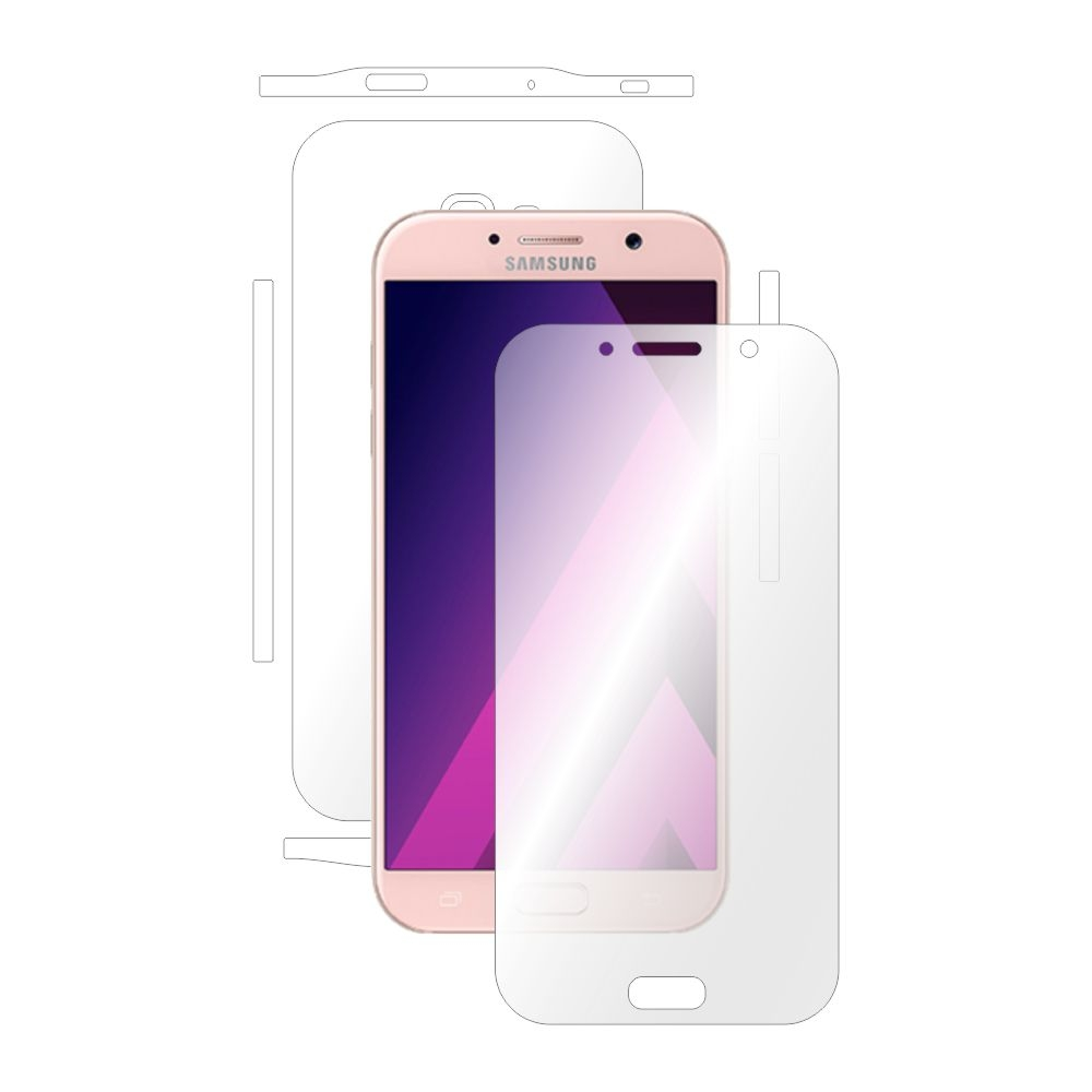 Folie de protectie Smart Protection Samsung Galaxy A7 (2017) - fullbody - display + spate + laterale imagine