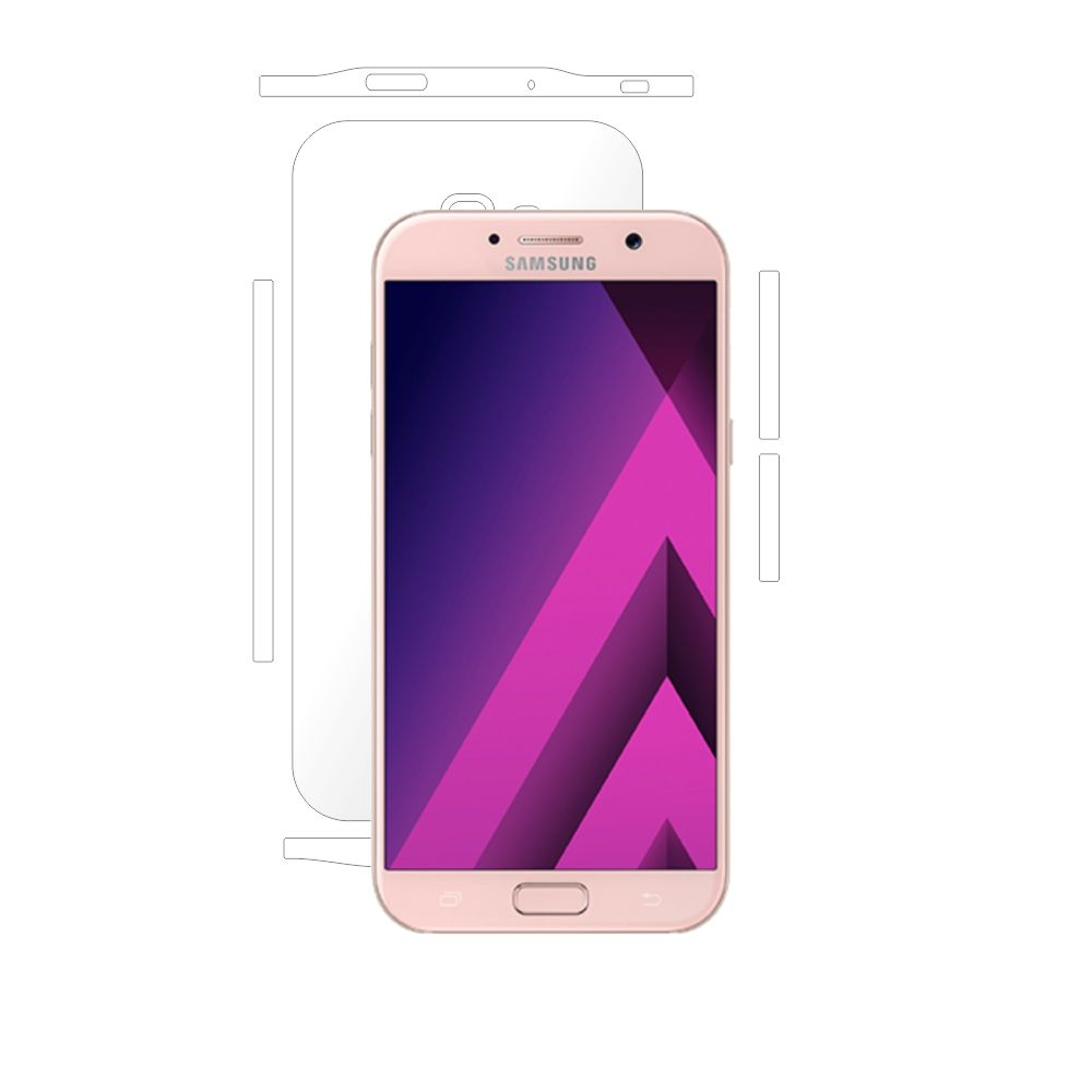 Folie de protectie Smart Protection Samsung Galaxy A7 (2017) - doar-spate+laterale imagine