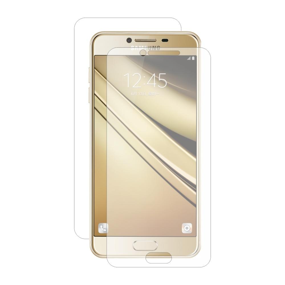 Folie de protectie Smart Protection Samsung Galaxy C7 Pro - fullbody-display-si-spate imagine