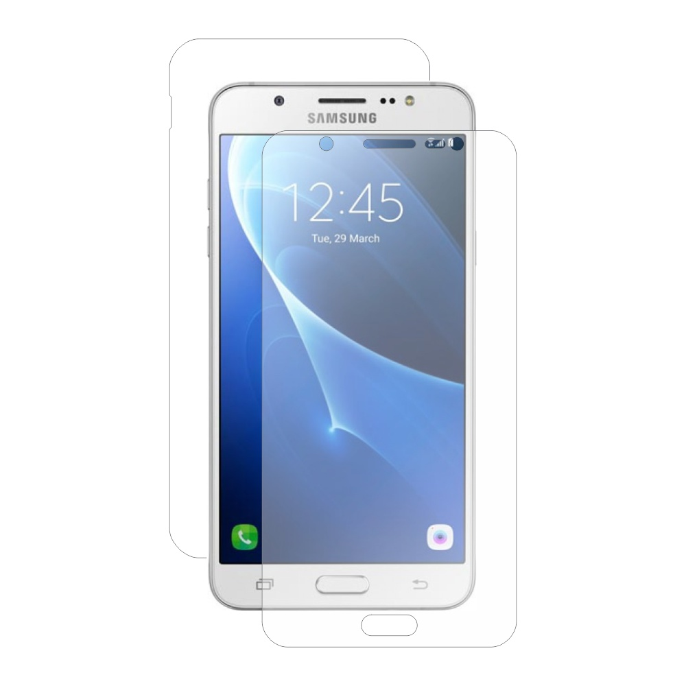 Folie de protectie Smart Protection Samsung Galaxy J7 (2016) - fullbody-display-si-spate imagine