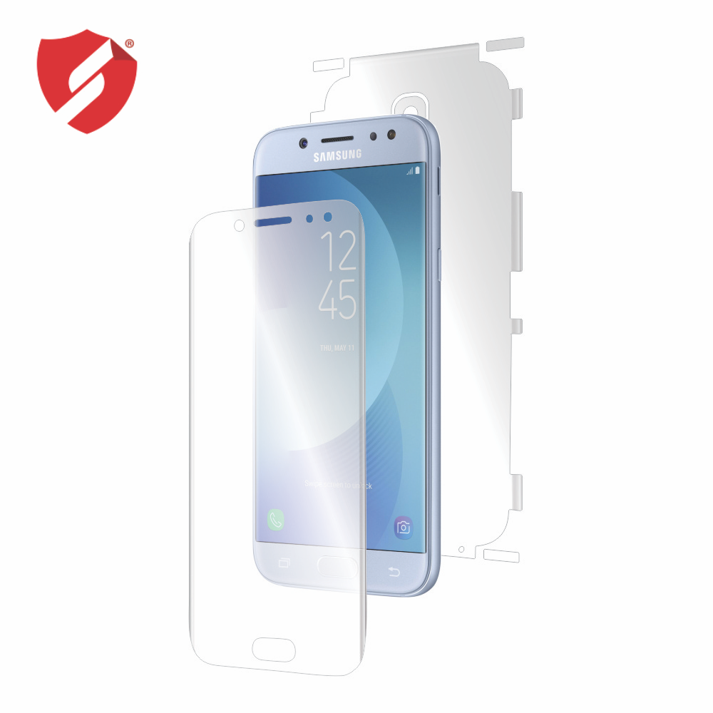 Folie de protectie Smart Protection Samsung Galaxy J7 2017 - fullbody - display + spate + laterale imagine