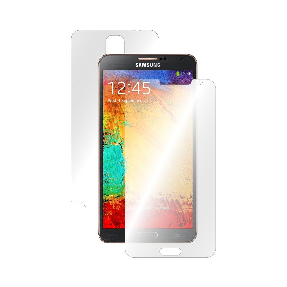 Folie de protectie Smart Protection Samsung Galaxy Note 3 NEO - fullbody-display-si-spate imagine