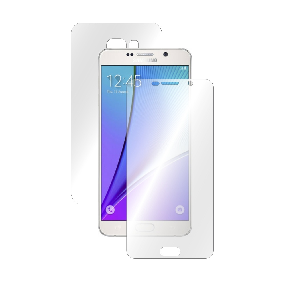 Folie de protectie Smart Protection Samsung Galaxy Note 5 - fullbody-display-si-spate imagine