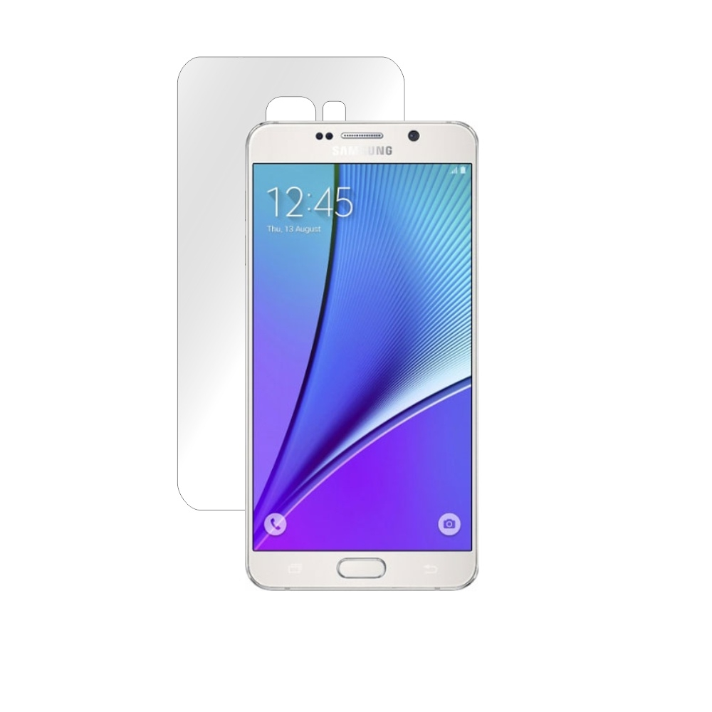Folie de protectie Smart Protection Samsung Galaxy Note 5 - doar spate imagine