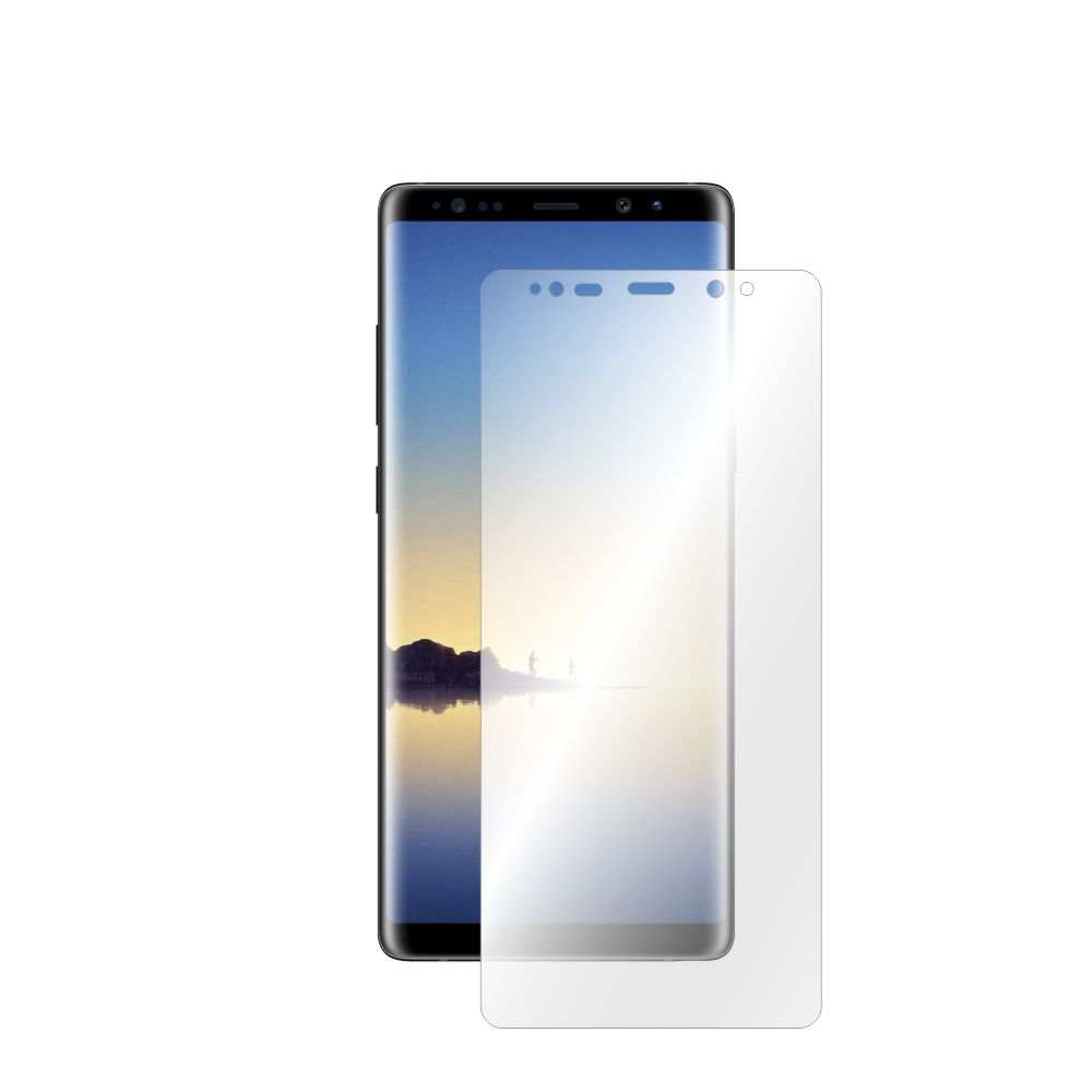 Folie de protectie Smart Protection Samsung Galaxy Note 8 compatibila cu carcasa Clear Cover - doar-display imagine
