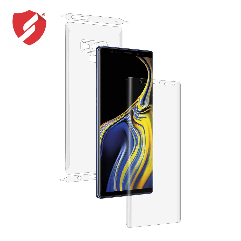 Folie de protectie Smart Protection Samsung Galaxy Note 9 - fullbody - display + spate + laterale imagine